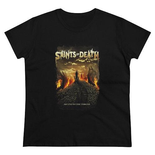 """Saints of Death """"ASCEND"""" Women's Heavy Cotton Tee"""