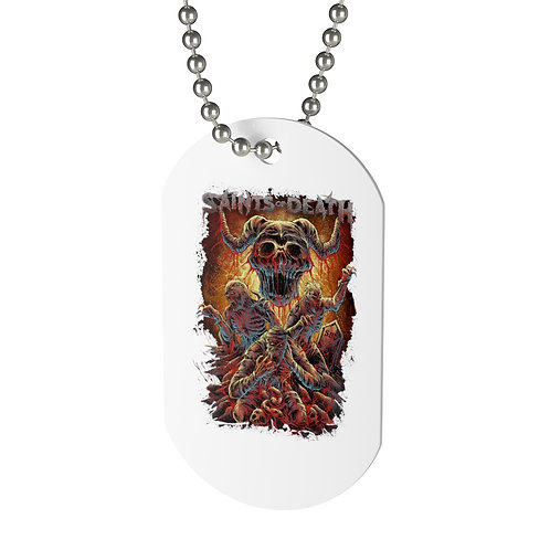 """Saints of Death """"Zombies"""" Dog Tag"""
