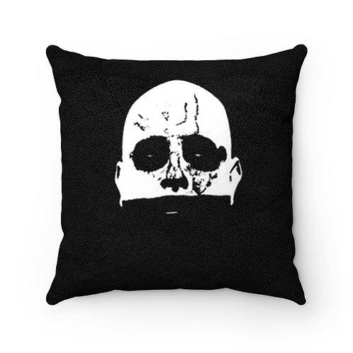 """Saints of Death """"Juan"""" Faux Suede Square Pillow"""