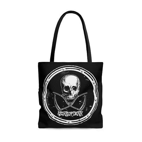 "Saints of Death ""Crest Logo"" Tote Bag"