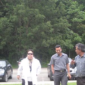 Bappi Lahiri visits EBC