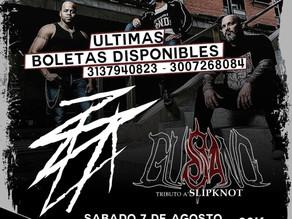 GUSANO-Tributo a Slipknot y ZOLA en VIVO!