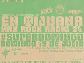 "ZOLA at ""En Tijuana hay Rock"" (Mexico) radio / min 15:53"