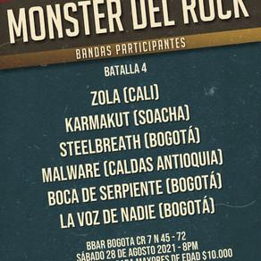 Nos acercamos al Monster del Rock Colombia 2021!