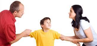 hijos con padres divorciados en la escuela
