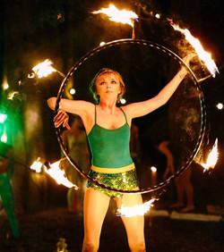 Phoenix Rising Fire Performer
