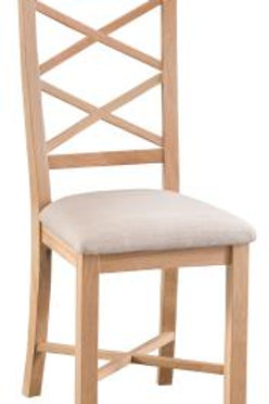 Double Cros Back Chair