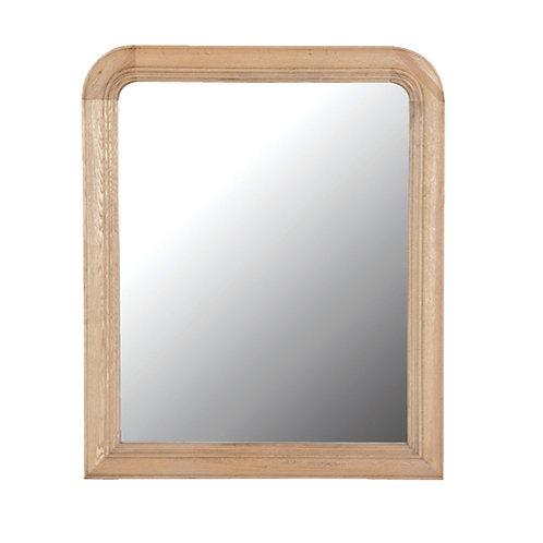 Weathered Oak Large Mirror 1210 x 1000