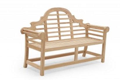 Teak 2 Seater Lutyens Bench