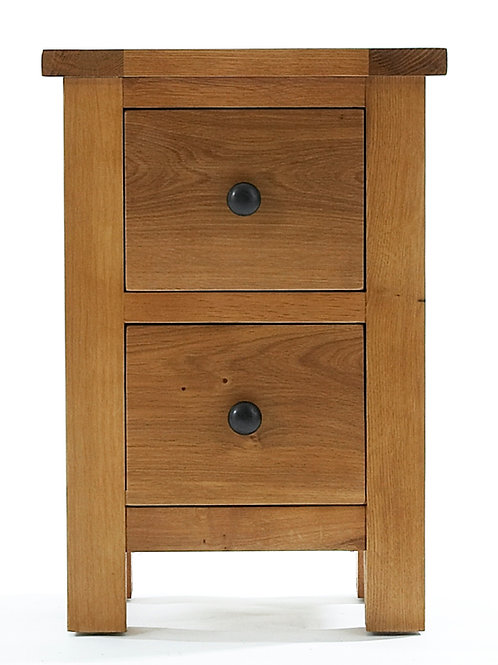 2 Drawer Bedside 40W X 30D X 56H