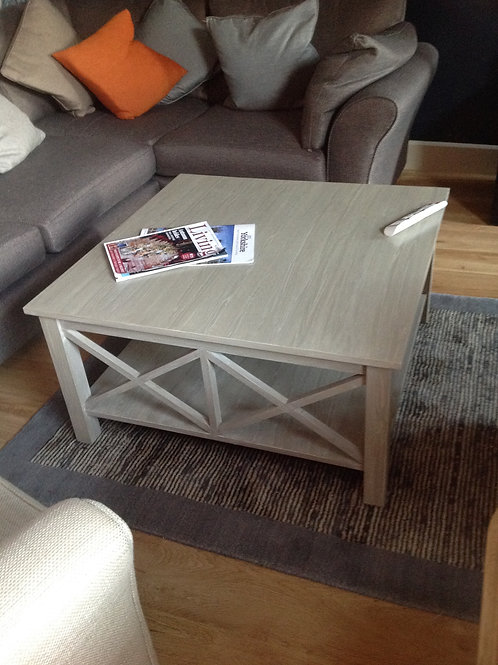 Bespoke Coffee Table with grain finish