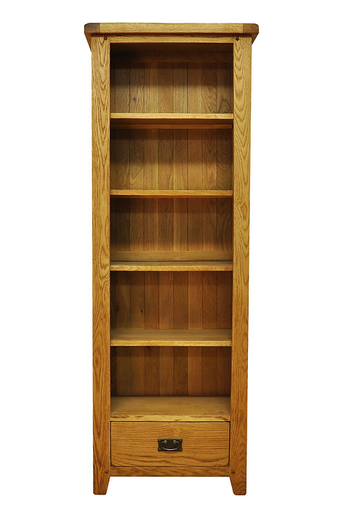 Narrow Bookcase with Dawer