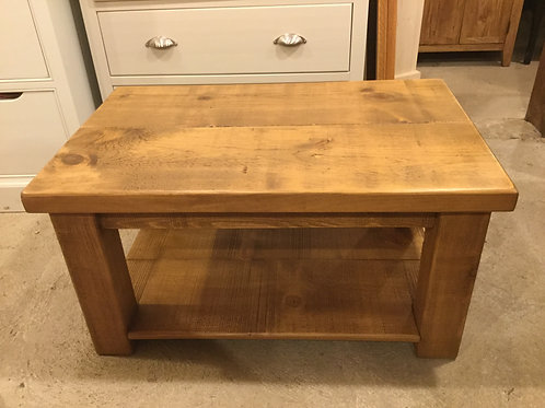 Rustic Coffee Table 3ft x 2ft Any Size can be made ring/text for prices