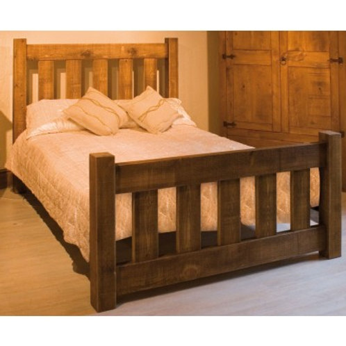 "3ft/ 4'6""/ 5ft/ 6ft Rustic beds"