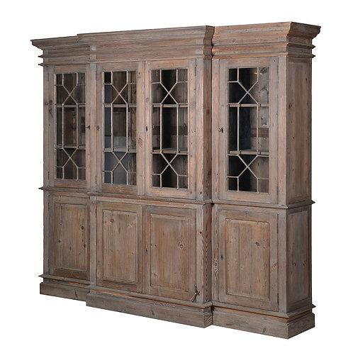Breakfront Bookcase 2080H x 2380 W 550 D