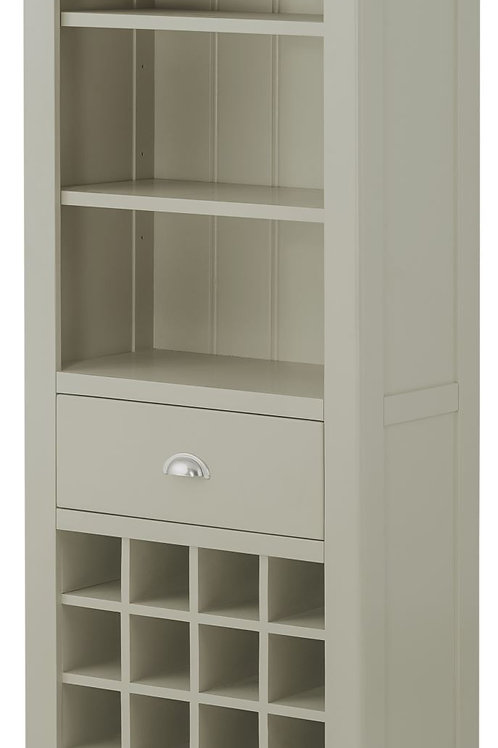Bookcase with Wine Cabinet