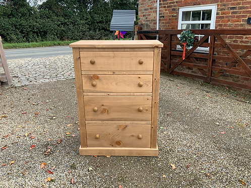 4 Drawer Chest Made to Measure