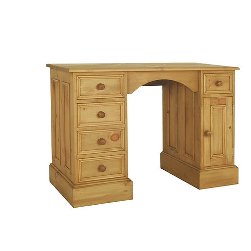 Double Ped dDesk/ Dressing table