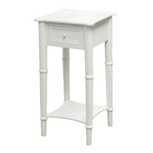 Bedside Table W/Drawer - H:700 W:360 D:360mm