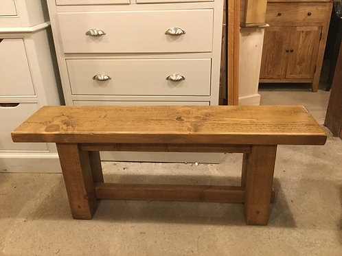 3ft Rustic Bench. Any size can be made