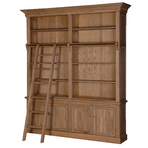 Library Bookcase H2460 x W2150 x D450