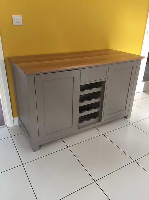 Sideboard with Wine and Fridge Section