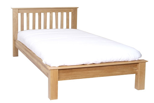 New Oak 4ft 6Ins Bed