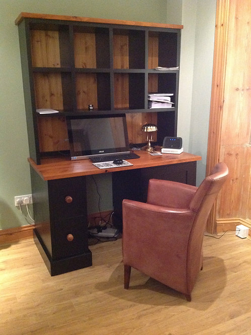 Desk and Book Shelves