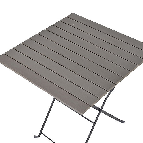Aluminium Table with Polywood Top