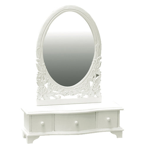 Dressing Table Mirror - H:470 W:380 D:120mm