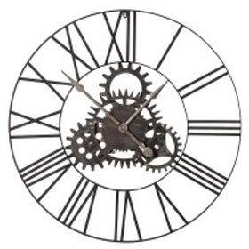 Coges Metal Clock