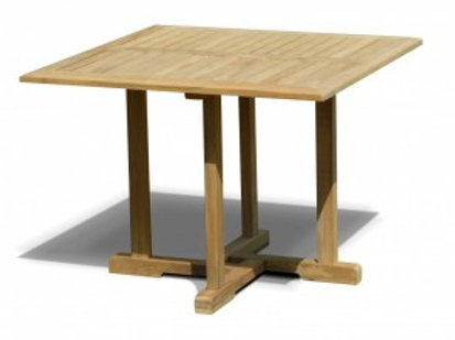 100mm Sqr Teak Table