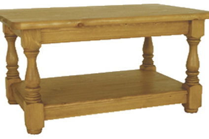 3 x 2ft Coffee Table with shelf