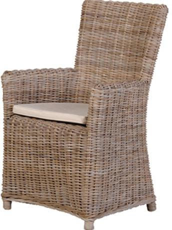 Kuba Carver Chair W/Cushion