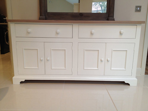 6ft Sideboard with Oak Top