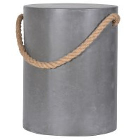Grey Stool With Rope