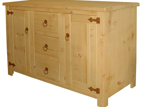 5ft 3 Drawer 2 Door Sideboard