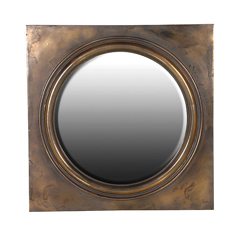 Round Mirror Square Frame 1070mm x 1070mm