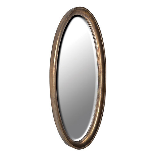 Antique Oval Mirror 1600mm x 750mm
