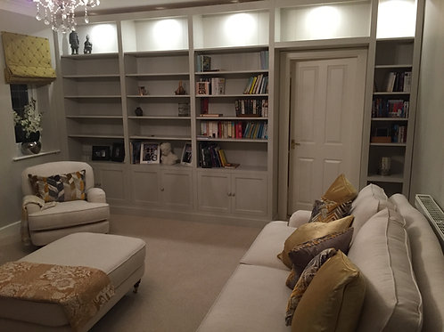 Custom Made Bookcase POA