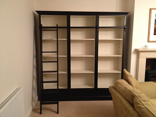 Library Bookcase 7ft H x 8ft W