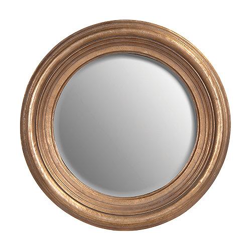 Round Gold Frame Mirror