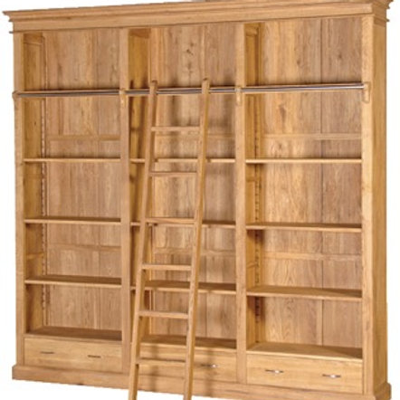 Library Bookcase H 2470mm x W2480 x D400