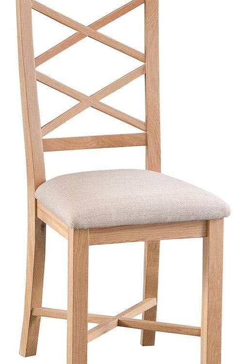 Nidderdale Oak  X Back Chair