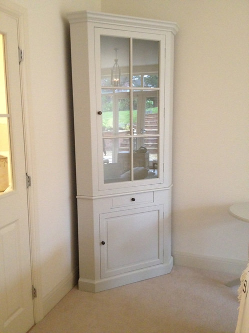 Glazed Corner Cupboard  POA