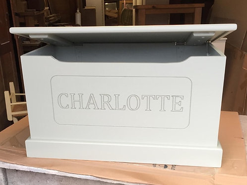 Custom Made Blanket Box can be made to any size. POA