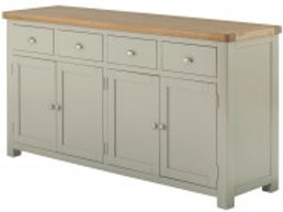 4Door Lincoln Oak Sideboard