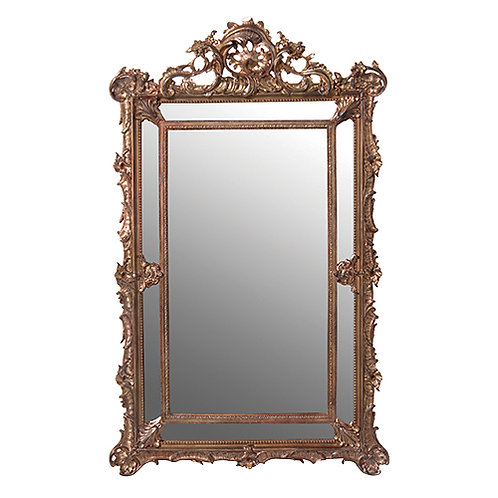 Antique Gilt Frame Mirror 920mm x 555mm