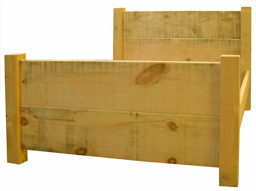 """3/4'6""""/5 ft Rustic Bed     Price shown for 5ft"""