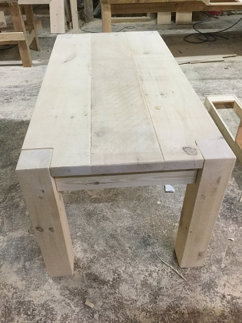 Rustic Table with 5ins legs  POA